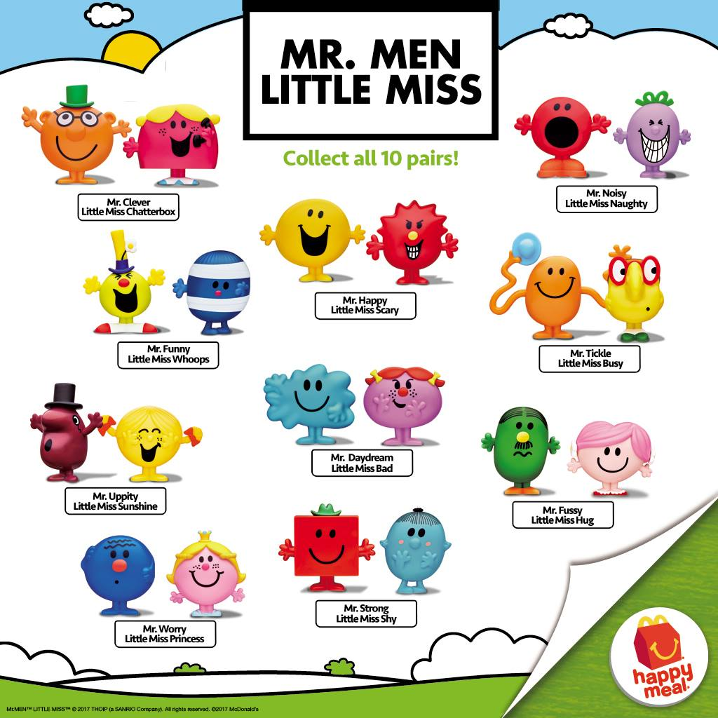 Mcdonald S Happy Meal Mr Men Little Miss