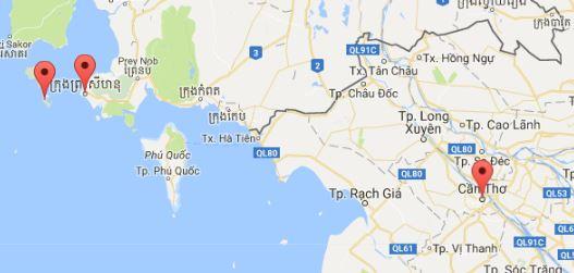 Runter von der Insel, auf in ein bekanntes Land: Vietnam