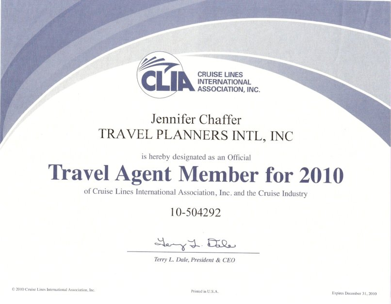 Clia Certification Travel Travelyok