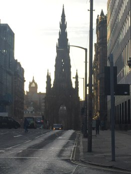 The Scott Monument; Edinburgh Scotland