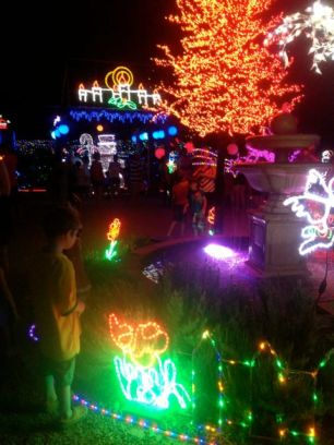 The last year of the great Bowers Road Christmas lights.