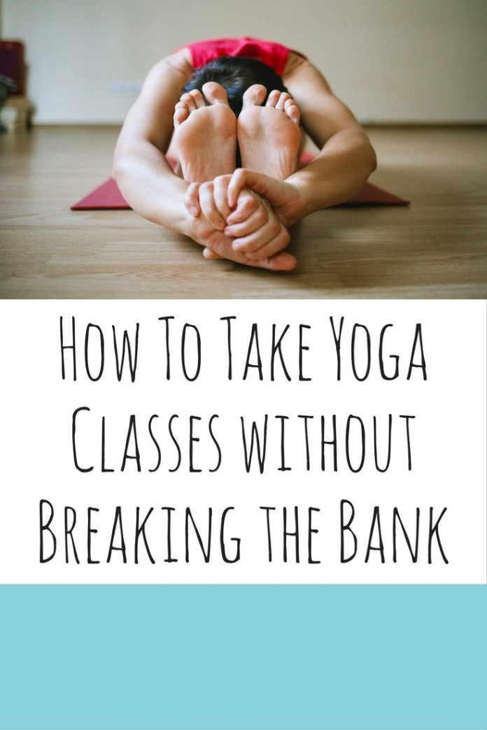 Yoga classes can be expensive! Read these 6 tips for find out how to take classes on the cheap!