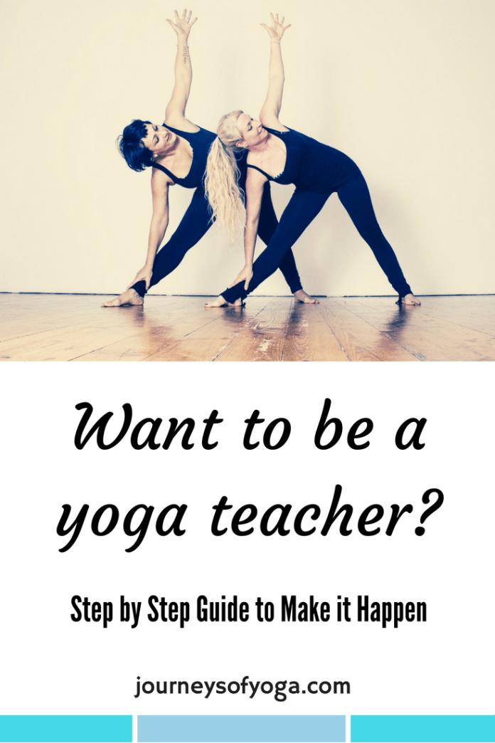becoming a yoga teacher, making it happen