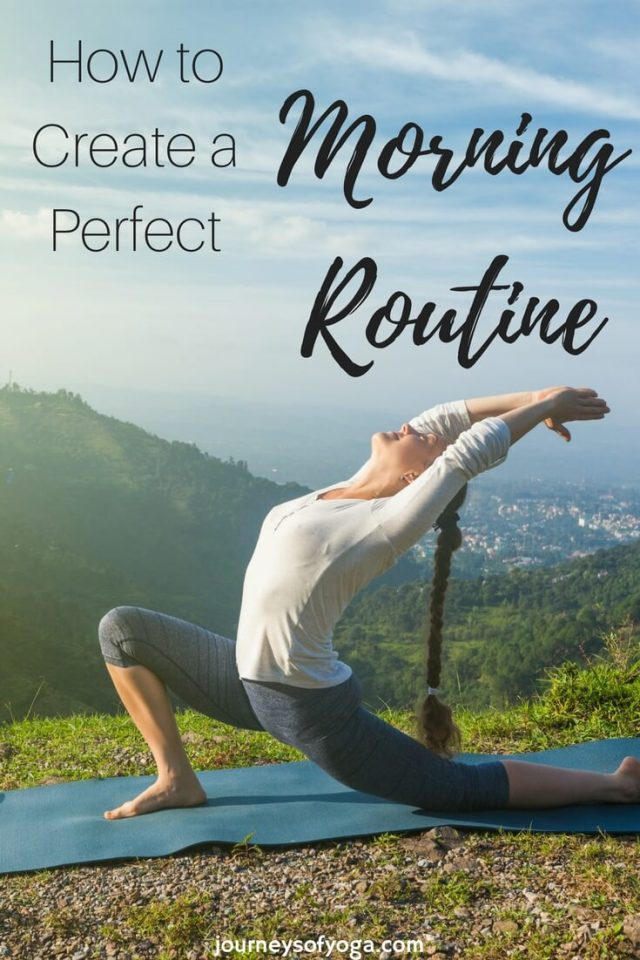 Create the perfect morning rountine
