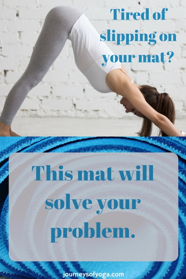 Tired of slipping on your mat- You need this mat!