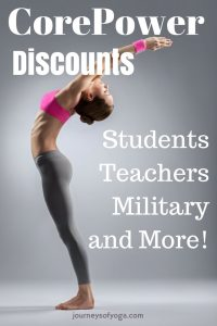 Do you know about all the different discounts CorePower offers? There are a ton! CorePower Yoga student discount, is one. Click article to find about about them all.