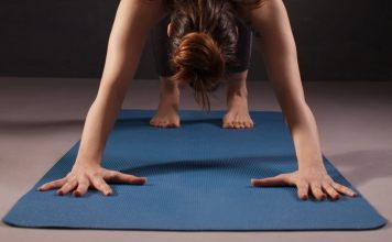 These 3 mats will keep you from sliding on your yoga mat. Yoga teacher recommended!