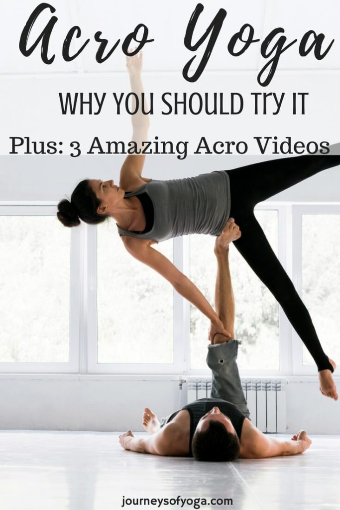 Why You Should Try Acro Partner Yoga Journeys Of Yoga