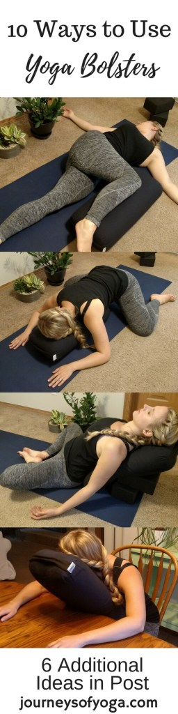 Yoga bolsters are amazing tools that can help you relax and deepen your yoga practice.
