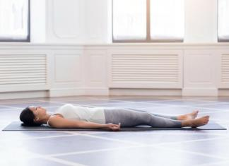 savasana pose