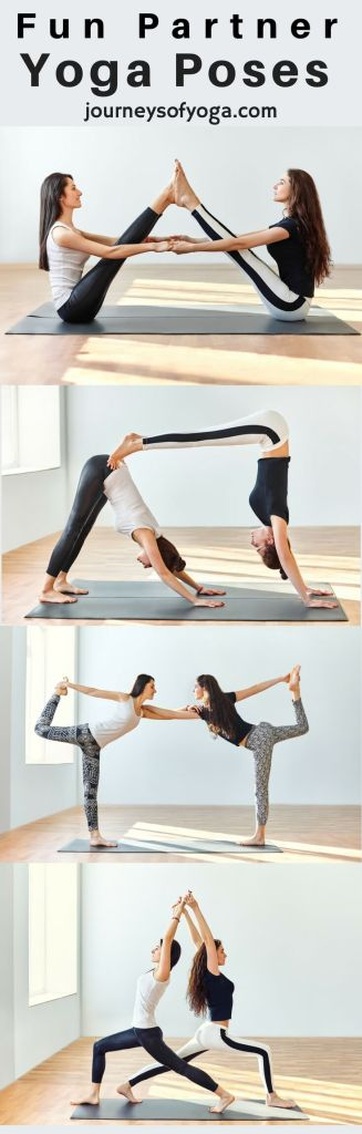 Doing Yoga can be really fun, especially if you do it with a friend. Grab your spouse, a loved one, or a friend and try out these partner yoga poses. Most of the poses can be modified for any level!