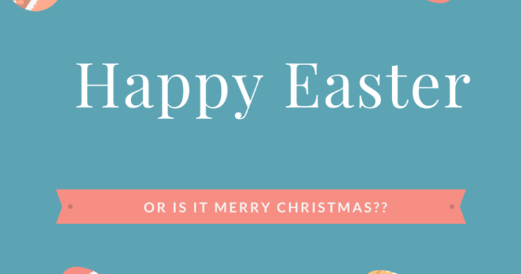 Is Easter the new Christmas?