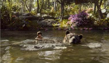 Baloo and Mowgli photo credit: Disney Studios