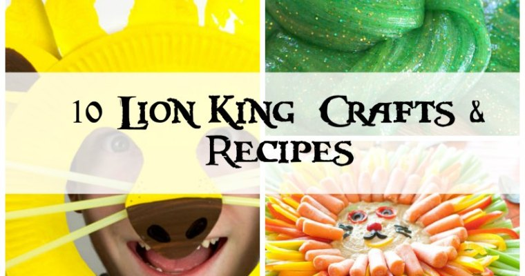 The Lion King: Throw A Roaring Party   10 Movie Inspired Ideas