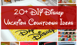 disney vacation countdowns