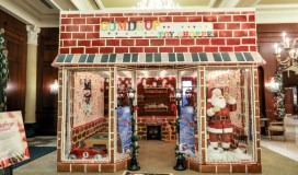 gingerbread displays
