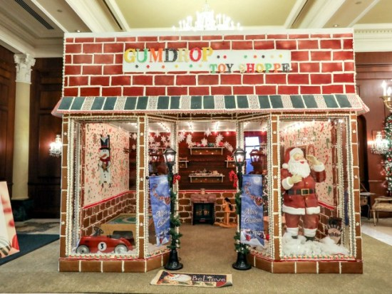 Gingerbread Displays: Four Must See Hotel Creations