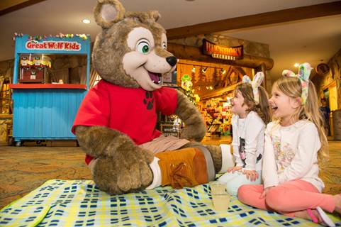 Great Wolf Lodge Williamsburg Spring-A-Palooza Celebration