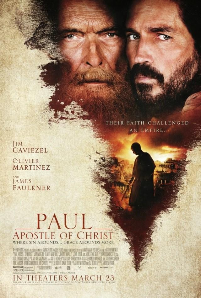 PAUL, APOSTLE OF CHRIST MOVIE