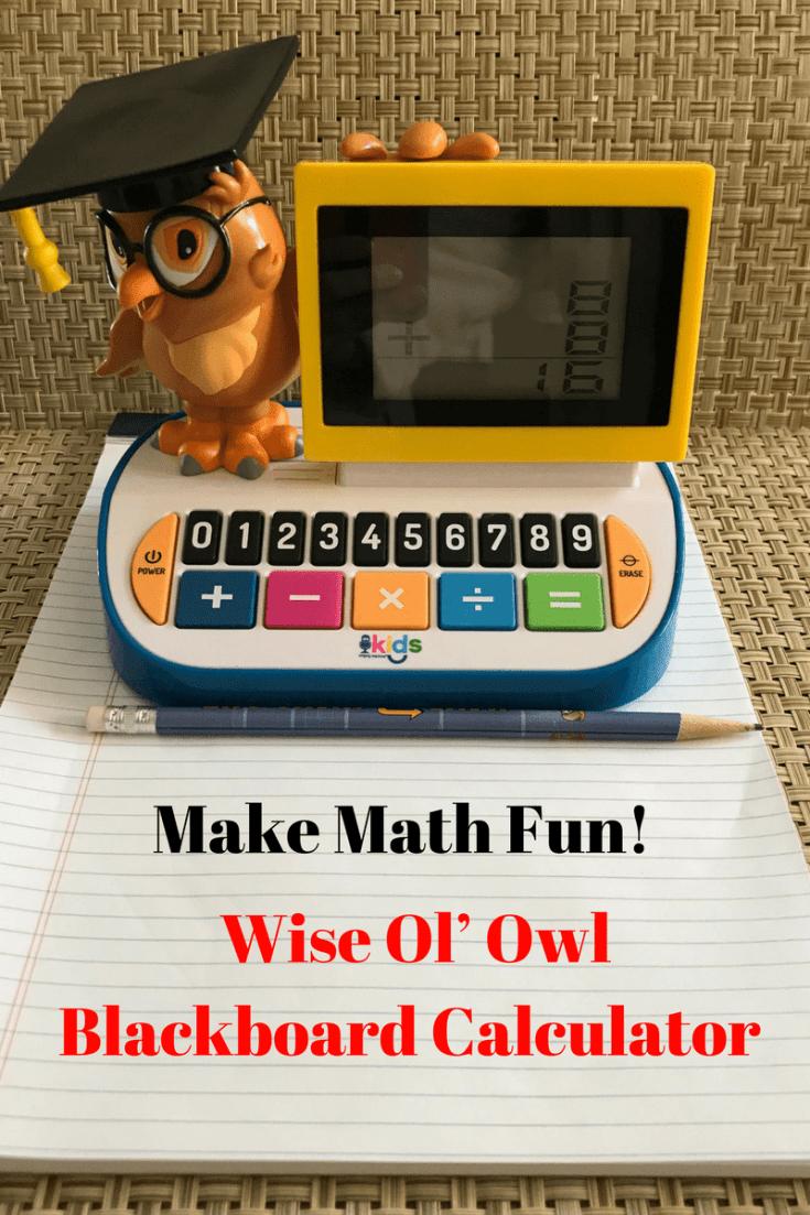 wise ol' owl blackboard calculator review