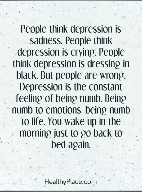 depression is real