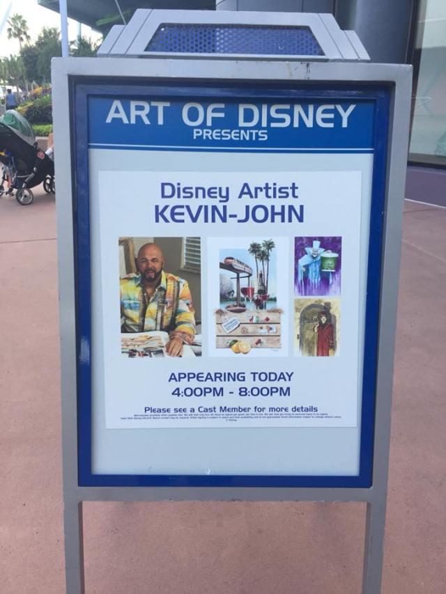 kevin-john disney master artist