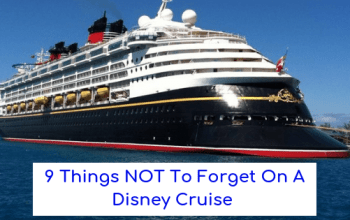 Disney Cruise Packing | 9 Things NOT To Forget