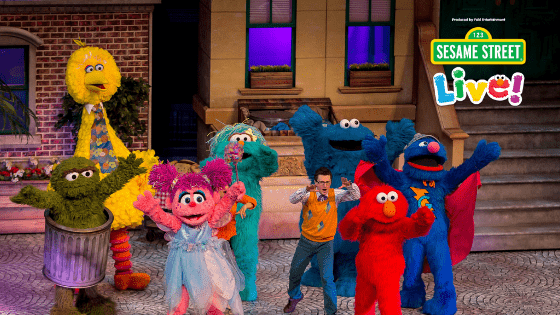 Sesame Street Live! Let's Party -Baltimore Ticket Giveaway
