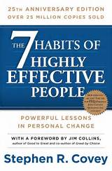 the seven habits of highly effective people - book cover