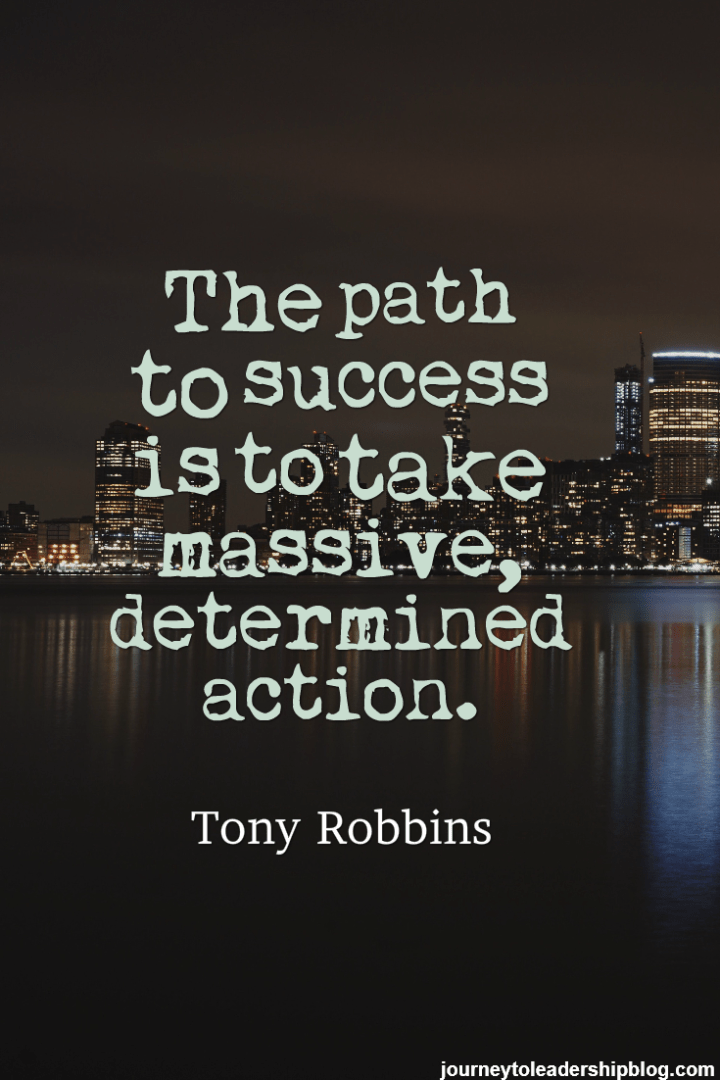 Quote The path to success