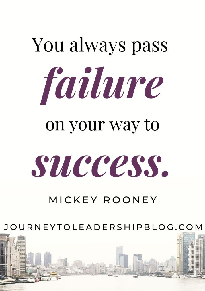 Quote Of The Week #109 You always pass failure on your way to success - Mickey Rooney #quotes #quotesaboutlife #quotesthatinspire #inspiratinoalquotes #success #failure