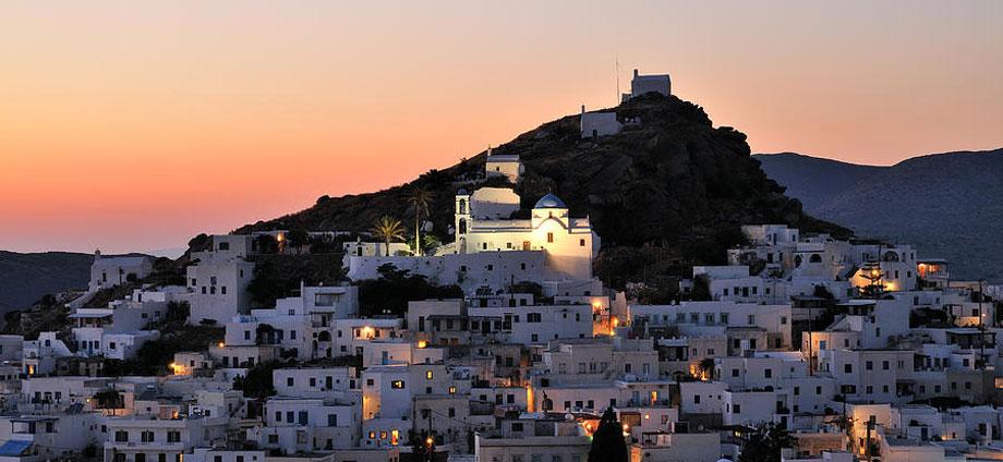 Ios party island, Greece