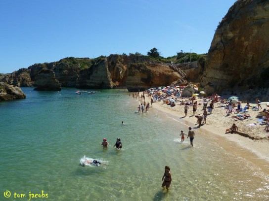 Praia Dona Ana Portugal best beaches in Europe