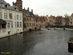 frozen canals bruges