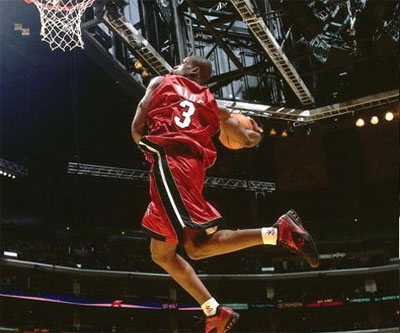 Dwyane Wade dunk miami heat