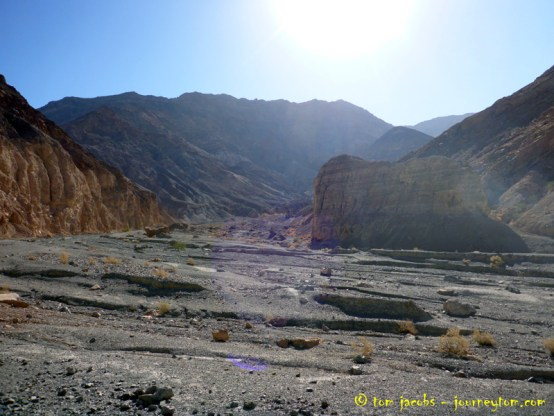 Death Valley Canyon hike