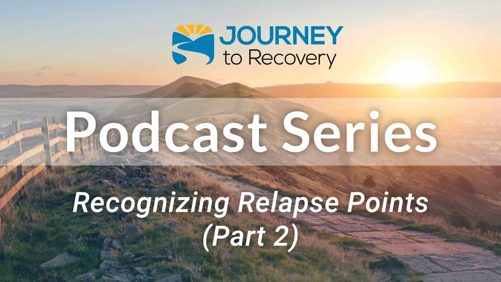 Recognizing Relapse Points (Part 2)