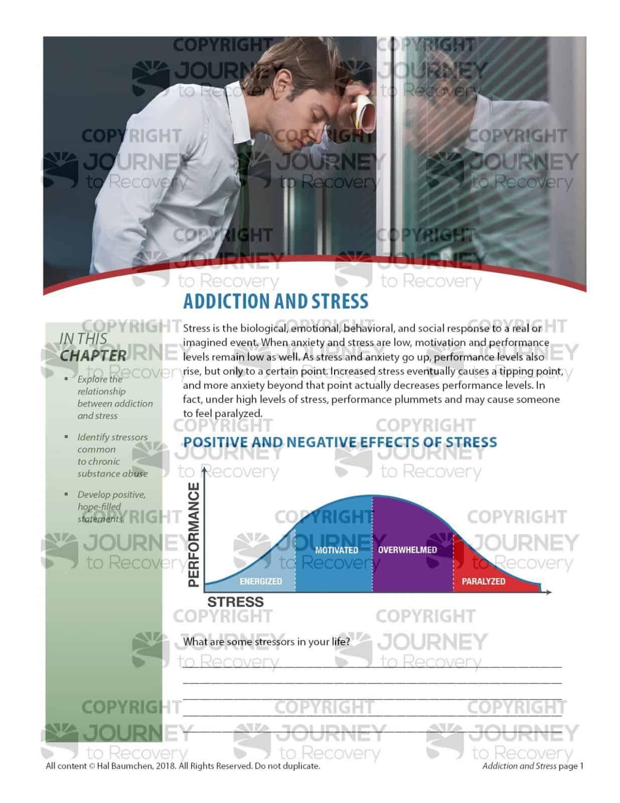Addiction And Stress Cod Lesson