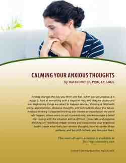 Calming Your Anxious Thoughts (MH Lesson)