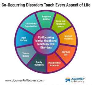 Co-Occurring Disorders Touch Every Aspect of Life (COD Infographic)