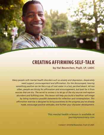 Creating Affirming Self-Talk (MH Lesson)