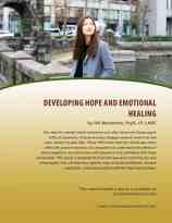 Developing Hope and Emotional Healing (MH Lesson)