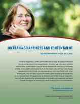 Increasing Happiness and Contentment (COD Lesson)