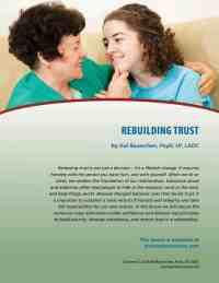 Rebuilding Trust (COD Lesson)