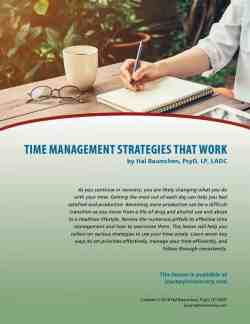 Time Management Strategies that Work (COD Lesson)