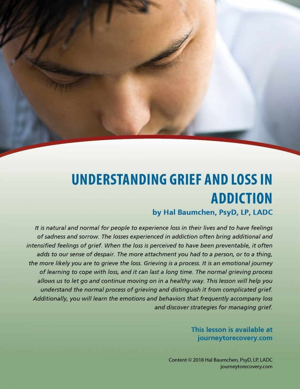 Grief And Loss Worksheet In Spanish