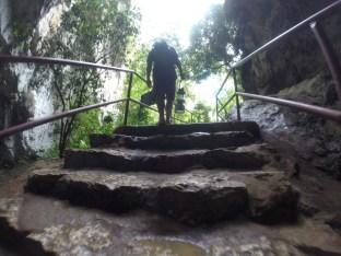 Exiting Sumaging Cave: trip success!!