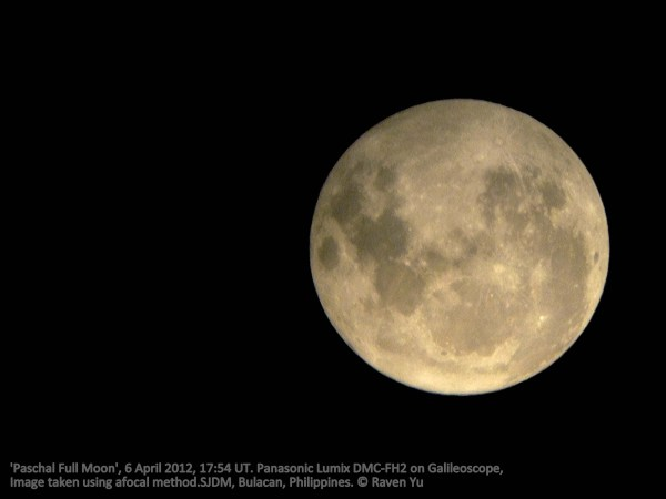 Paschal Full Moon and the Astronomy of Easter Journey to