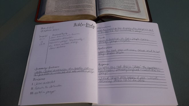 Bible Study Journal - Acts | Journey with Jill