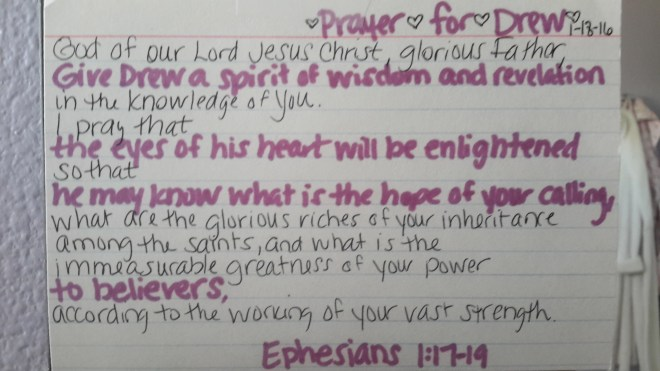 Prayer for a child who hasn't received Christ yet | Ephesians 1:17-19 | Journey with Jill